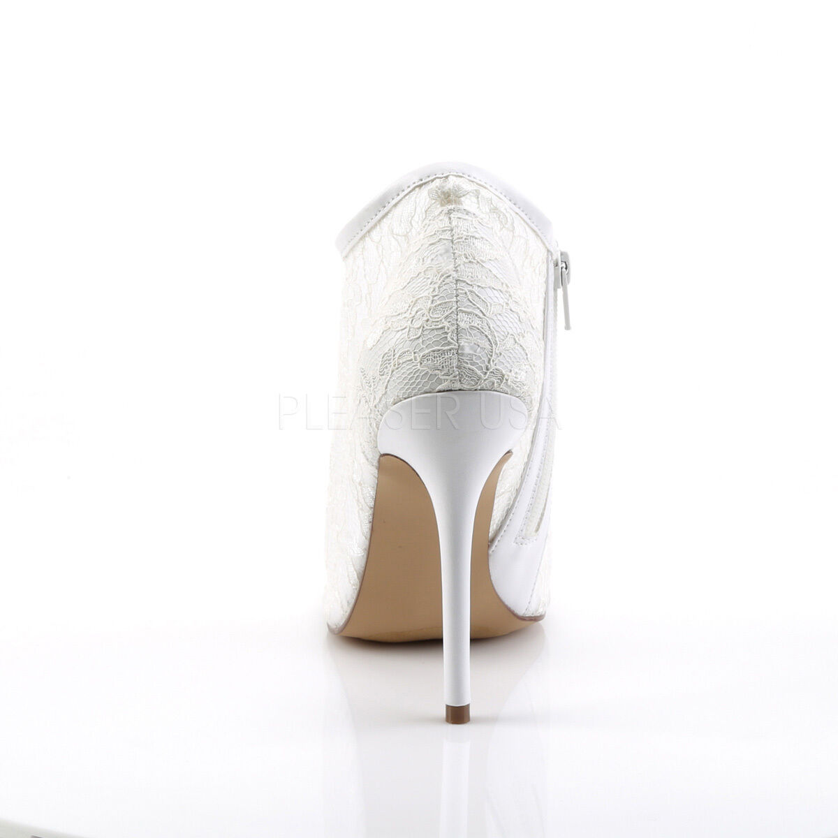 Ivory Off Weiß Lace Vintage Wedding Womans Bridal Schuhes High Heels Womans Wedding 7 8 9 10 11 33413d