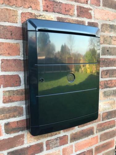 Paire Meter Box Cover ou overbox-Réparation Solution Pour Gaz//Elec mètres Noir