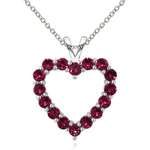 925-Sterling-Silver-2-25-Ct-Created-Ruby-Open-Heart-Necklace