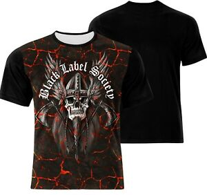 BRAND NEW BLACK LABEL SOCIETY ALL OVER PRINT HEAVY METAL  T-SHIRT!