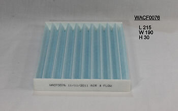Wesfil Cabin Air Pollen Filter WACF0076