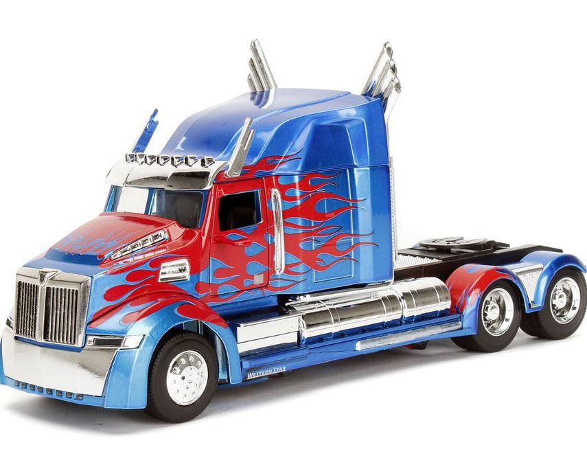 5. der letzte ritter - film transformers - druckguss - 1   24 optimus prime