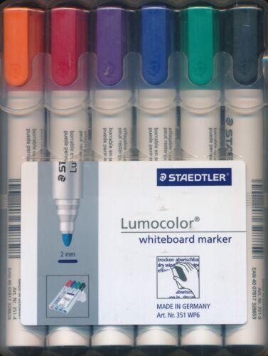 Staedtler Lumocolor Whiteboard Marker 2mm nib NEW made in Germany