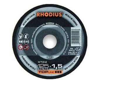 Rhodius Trennscheibe TopLine XT 24-115 x 1,5 x 22,23 für Aluminium