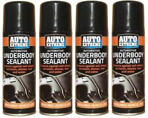 4x-Hi-Performance-Vehicle-Under-Body-Seal-Protection-Spray-200ml-Cars-Van-Arches