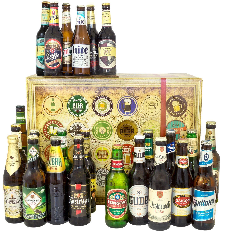 Bier Spezialitäten aus aller Welt und Deutschland - Biergeschenk 24 Bestee Sorten