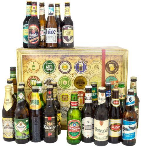 Bière spécialités du monde entier et l/'Allemagne-biergeschenk 24 meilleur variétés