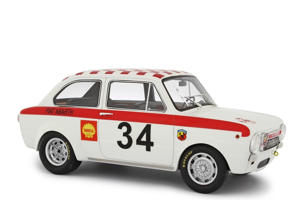FIAT ABARTH 1600 OT - 1964 1 18 RESIN MODEL LAUDORACING-MODELS LM105B31