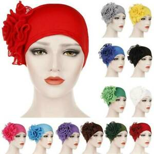 Women-Hair-Loss-Head-Scarf-Turban-Cap-Wrap-Flower-Muslim-Cancer-Chemo-Hat-Cover