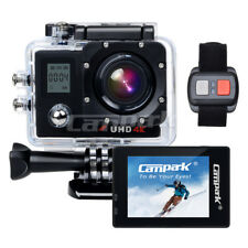 Campark ACT76 Ultra HD 4k/30fps WiFi Sports Action Kamera DVRCAM w/Fernbedienung