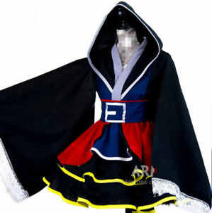 New Sora Kingdom Hearts II Cosplay Kimono Dress