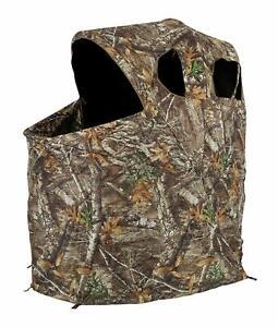 Ameristep Realtree Edge Hunting / Shooting Tent Chair Blind