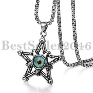 Men Women Star Pentagram Pentacle Evil