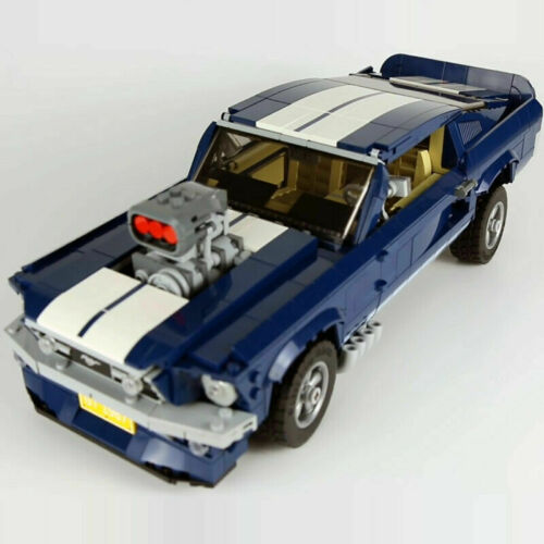 Technic Ford Mustang 1967 Creator Expert 10265 Legoed 1648 Teile Building Blocks