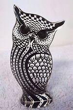 Vintage Abraham Palatnik Acrylic Lucite Owl Figurine Sculpture Kinetic 2658