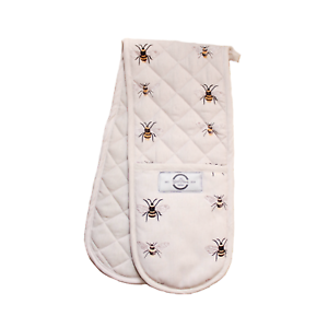 Factory Seconds Double Oven Gloves - Bees The Gifts and Flowers Company