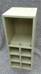 Limed-Ash-Style-wine-rack-kitchen-or-bathroom-wall-cabinet-open-faced-shelf