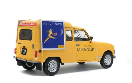 Renault 4L La Poste au 1//18eme longueur 20cm Solido neuve dans sa boite
