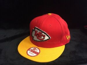 ed3cf4ed Details about New Era 59Fifty Kansas City Chiefs - Red/Yellow Hat (OSFM)