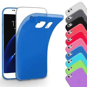 Slim-Case-fuer-Samsung-Galaxy-Schutz-Huelle-Silikon-Tasche-Handy-Huelle-Cover