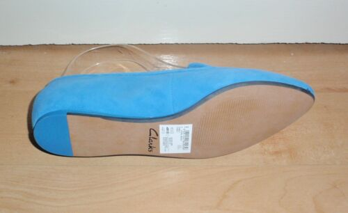 Blue Bnib Shoes Clarks en Cobalt Coral para mujer Beach Suede xF0waFpvq