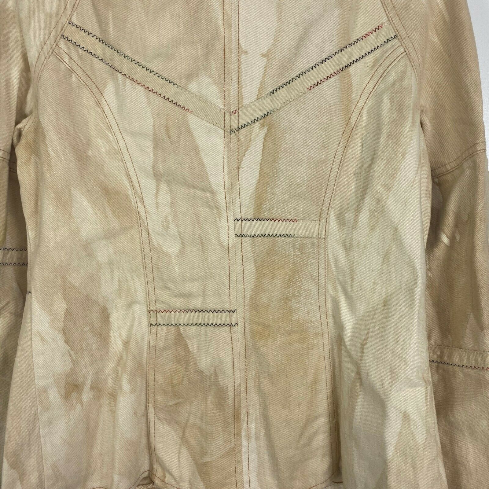 Vintage Roncelli Womens Size 11/12 Tie Sleeve Ful… - image 10
