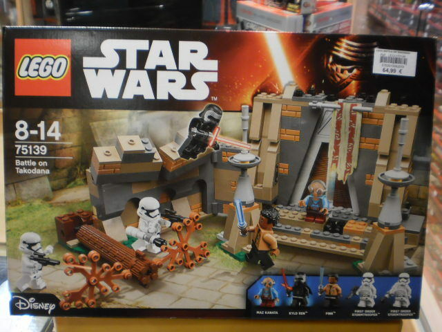 BATTLE ON TAKODANA STAR WARS LEGO