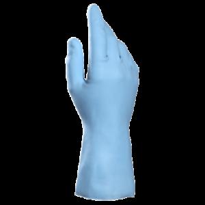 Haushalthandschuh 9 Gummihandschuh Latexhandschuh MAPA VITAL 117 blau Gr