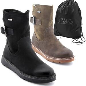 Bottes femme TWIG T9927 bottines chaussures daim noir marron