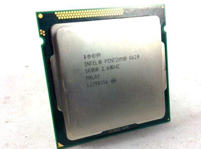 Pentium G620 2.6 GHz 3MB cache Processor TESTED WORKING SR05R Sandy Bridge