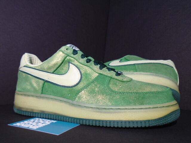 Nike Air Force 1 Premium '07 HULK SKUNK FOREST TOMATILLO GREEN PISTACHIO FOREST SKUNK 12 10.5 b8e3bb