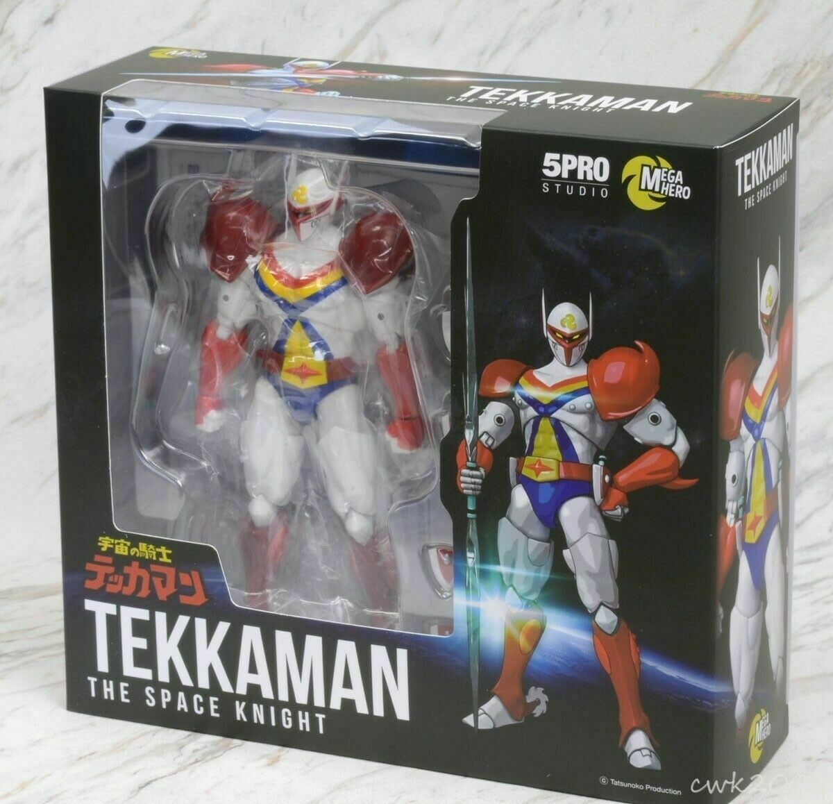 Mega Hero Tekkaman Space Knight Tatsunoko 5PRO Blitzway Medicom Action Figure