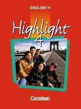 BUCH - English H. Highlight 4 A. Schülerbuch Cornelsen