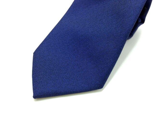$118 Bar Iii Men`S Blue Solid Neck Tie Slim Casual Dress Skinny Necktie 60x2.5