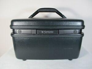 VTG-SAMSONITE-Small-Size-Hard-Case-TRAIN-Case-Movie-Star-Case-Luggage-No-Key
