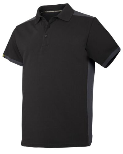 Snickers Workwear 2715 AllroundWork Polo Shirt Mens SnickersDirect Black
