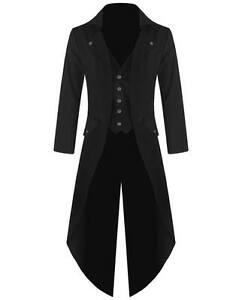 mens stock victorien tailcoat Manteau steampunk gothique wpqY8F