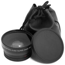 Wide Angle Macro Close up Lens for Camera AF-S DX 18-55mm 55-200mm Black LF036