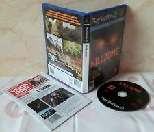 KILLZONE - Kill Zone Playstation 2 Ps2 Play Station Gioco Game Sony