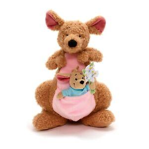 Disney Kanga & Roo Small Soft Plush Toy Doll Set Winnie The Pooh 35 cm