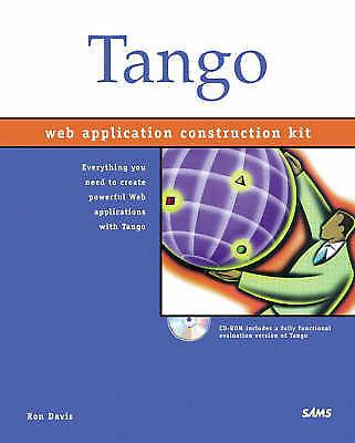 Tango 2000 Web Application Construction Kit, Davis, Ron, Used; Good Book