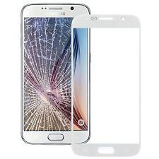 Samsung Galaxy S6 SM-G920F Cristal De Pantalla Digitador Táctil en blanco