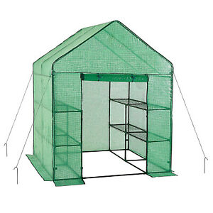 Large-Walk-In-Greenhouse-W-3-Tiers-12-Shelves-Stands-Outdoor-Herb-Flower-Plants
