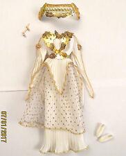 Tenue outfit fashion BARBIE déesse goddess grec grecque grecian greek - 4 pièces
