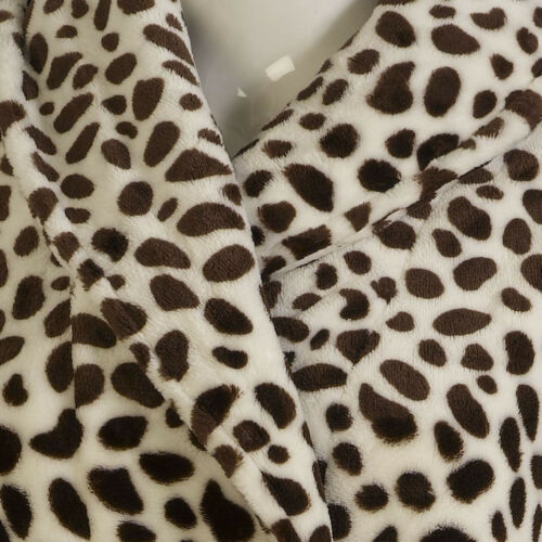 Slenderella Women/'s Premium Quality Animal Print. Super Soft Coral Fleece Wrap