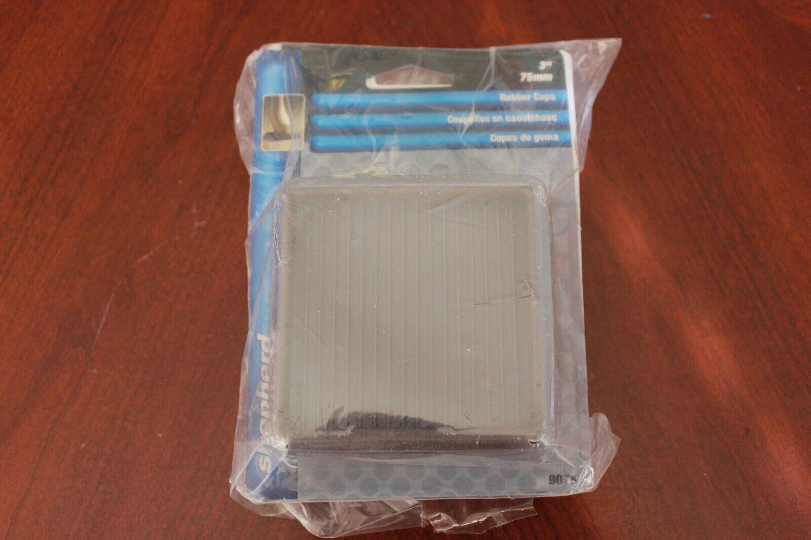 Set of 4 Caramel Color Furniture Wheel Gripper Caster Cups Slipstick CB840 3-1//4 Inch Bed Roller