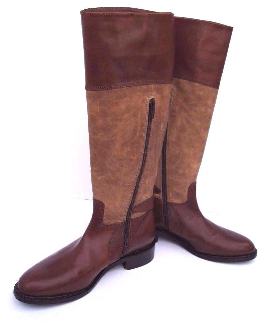 NEW Johnston & Murphy Vero Cuoio Lyla Tall Knee Boot Leather Calfskin NIB Size6