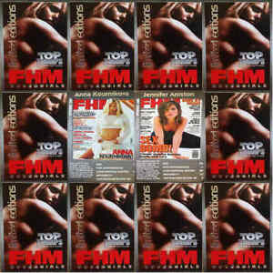Top-Trumps-Single-Cards-FHM-Magazine-Cover-Glamour-Girl-Models-Various-FB3