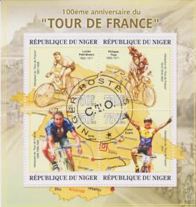 Tour de France Niger gestempelt 2708