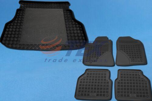 TOYOTA AVENSIS T25 Kombi ohne Trenngitter 03-09 Kofferraumwanne Gummi-Fußmatten